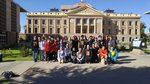 8th Graders at the State Capitol