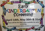 Early Kinder Screening