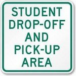 Student Drop-Off and Pick-Up Area