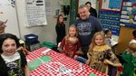 Children at the book tasting