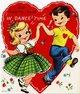 Vintage Valentine about a Valentine Dance