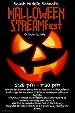 Halloween STREAMfest flyer