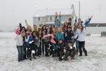 The 2014 Seabreeze Staff enjoying a snow day!