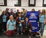 Seaside CYBORG Robotics Clackamas Academy 1st place