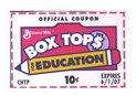 We love Box Tops!