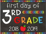 View First Day of School 2018-2019