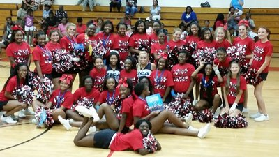 2016 - 2017 WHHS Cheerleaders