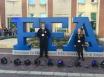 Chapter President Amanda and Chapter Vice President Matt at the 2018 National FFA Convention in Indianapolis.