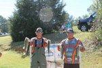 Seniors Sutton Black and Blake Lloyd