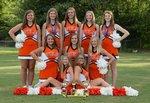 2017-2018 JV Cheerleaders