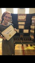 Emma Grace Clark Wins State Reading Fair