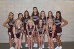 Group photo Clarkdale Junior High Cheerleaders