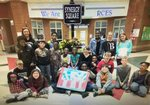 4th Grade: Mrs. Lee Ashe`s class won first place in the upper grades in the Veteran`s day poster contest.