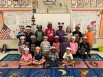 Mrs. Huffstetler and Mrs. Frazier's class celebrate Constitution Day!