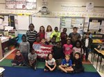 3rd Grade: Mrs. Lisa Thomas` class won first place in the lower grades in the Veteran`s Day Contest.