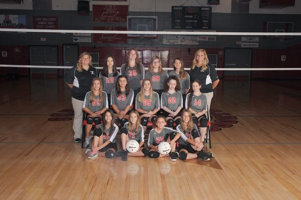 2018-2019 Jr. High Volleyball Picture