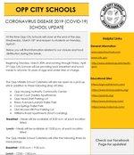 updated informational flyer