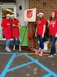 View Student Council and Cheerleader Bell Ringing at Blalock's