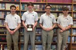 MS History Bowl JV State Champions