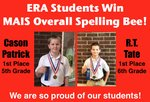 MAIS Overall Spelling Bee Winner