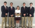 MS History Bowl Varsity State Champions