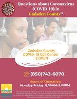 Gadsden County COVID-19 Call Center
