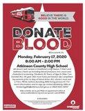 Blood Drive Jan 17