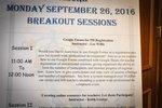 View 2016 - Fall Symposium - Monday Breakout Sessions