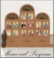 Our Memorials Program