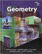 HMH Geometry: Student Edition 2015 1st Edition