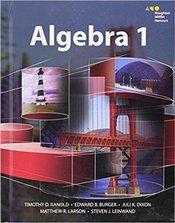 HMH Algebra 1: Student Edition 2015 1st Edition