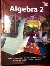 HMH Algebra 2: Student Edition 2015 1st Edition