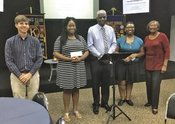 Former Project Life: Positeen students receive scholarships from Kiwanis Club