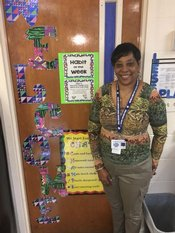 Abrams` 2017-2018 Teacher of the Year