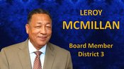 Image for Mr. Leroy McMillan (Chair)