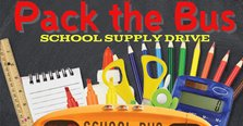 School Supply Drive - Pack the Bus