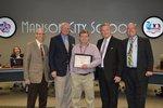 View JCHS Science Teacher Award recipient; April 30 BOE Meeting