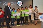 View Elementary Team Award: Columbia Platinum Team - 3rd Place