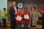 View Rainbow Green Team: 2nd Place Elementary Team Award
