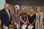 View School Counselors Winning the RAVE Award
