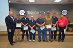View Top Safety Award to MCS Transportation