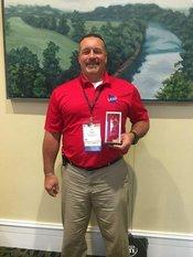 RHS Construction teacher, Tim Elliott, wins the    Trade and Industrial Educators of Georgia Teacher of the Year 2018.