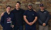 Taylor Dyer, Josh Brock, Hank Powell and Brad Wattenbarger
