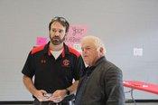 Ron Polk & Coach Hobbs