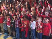 Ms. High`s Students Share Smiles and a Song!