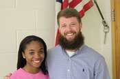 Hernando High School junior Katelyn Cartwright is the Gatorade Mississippi High School Cross Country Runner of the Year. Katelyn is joined by her cross country and track coach, Logan Clark.