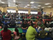 Guests enjoyed breakfast with their special student