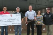 Daleville JROTC Donates to Wounded Warrior Hunt